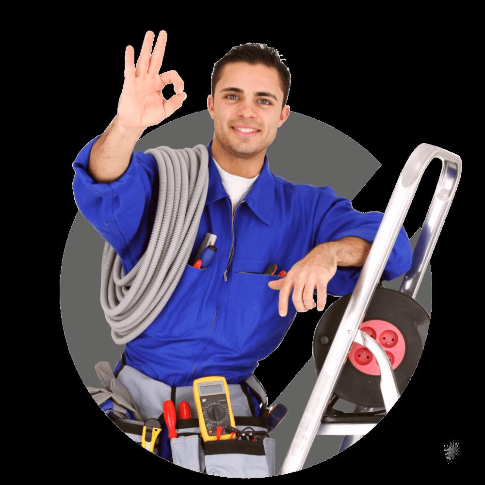 Gérald, electrician